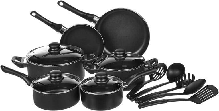 Basics Non-Stick Cookware 15 Piece Set