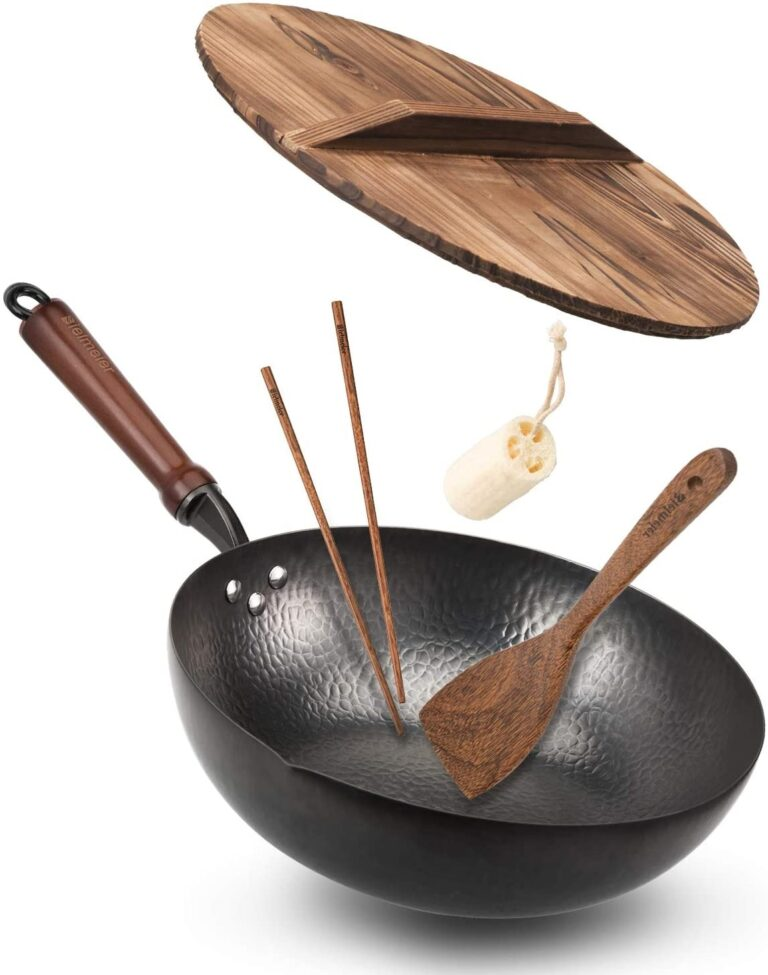 Bielmeier Wok Pan with lid