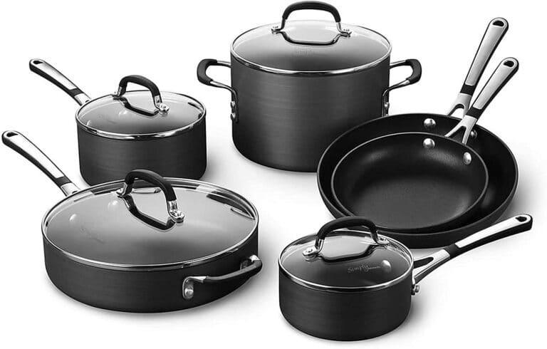 Calphalon Simply Pots and Pans Set 10 Piece