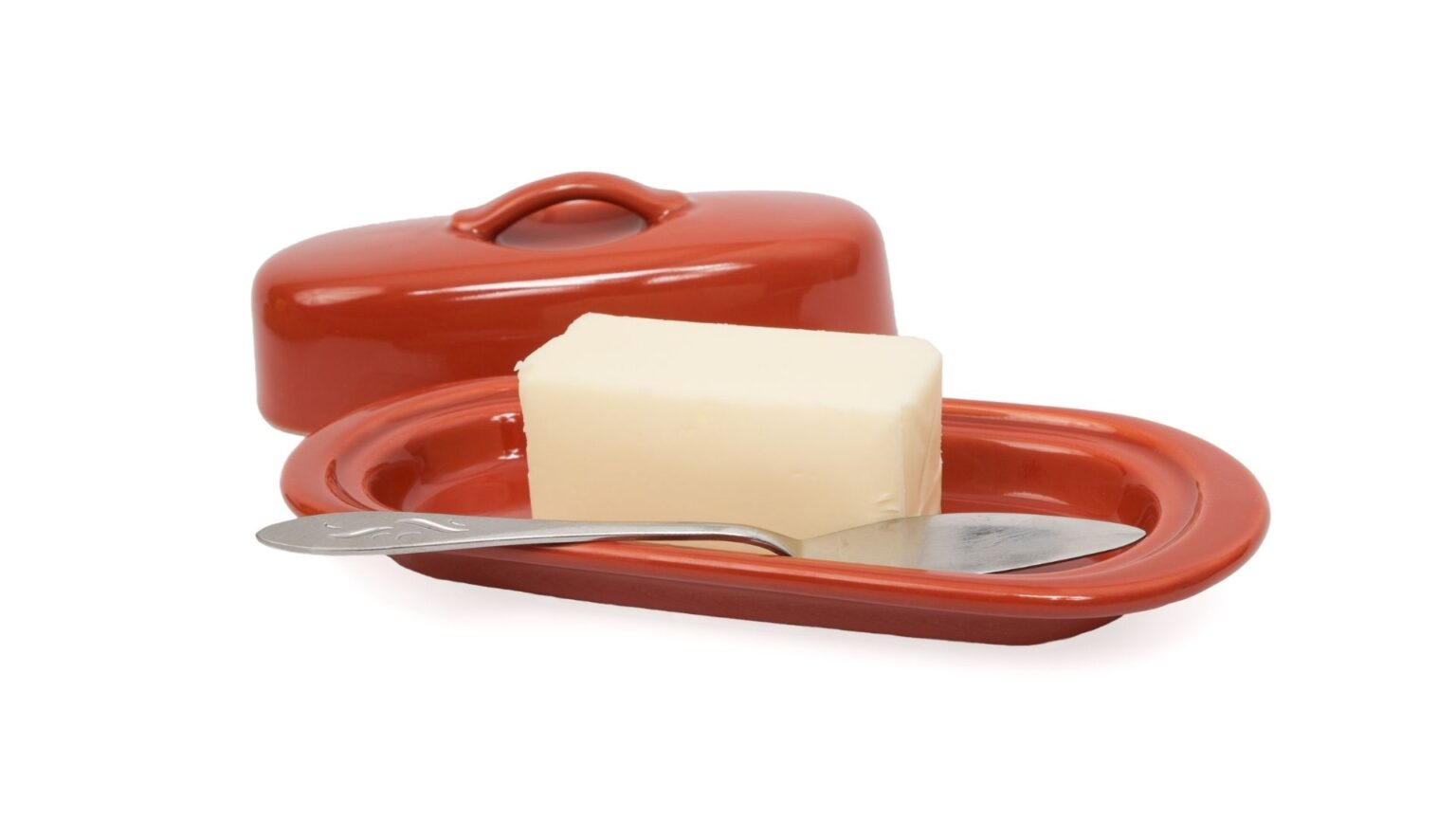 Clay Butter Dish