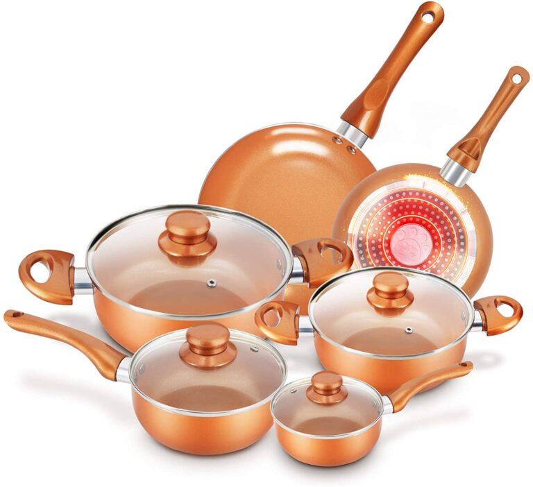 Cookware-Set Nonstick Pots and Pans-Set KUTIME