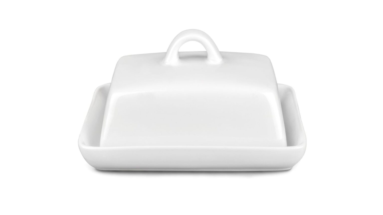Glass Ceramics Butter Dish