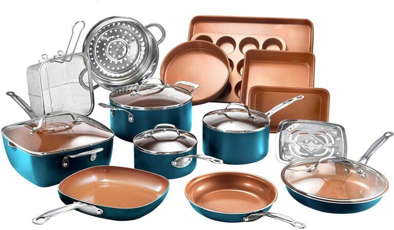 Gotham Steel Cookware Set 20 Piece