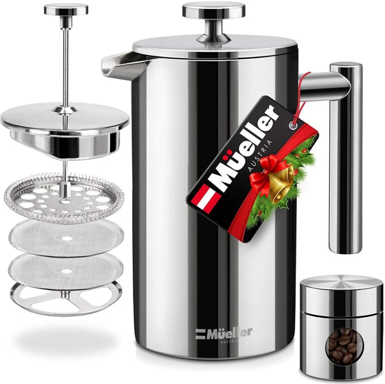 Mueller French Press Double Insulated