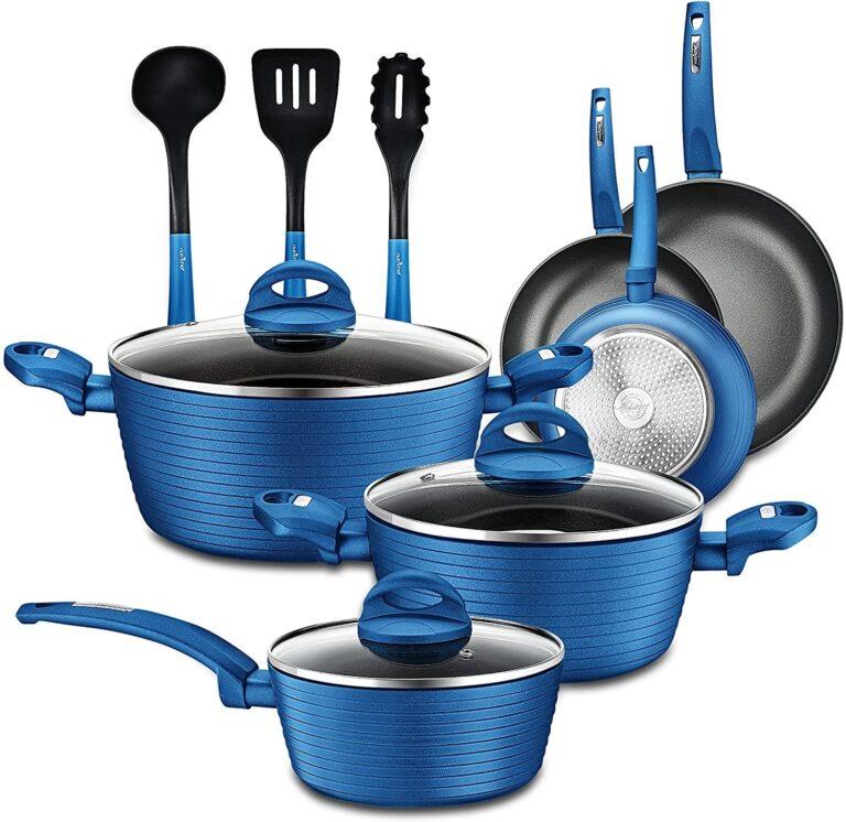 NutriChef Nonstick Kitchen Cookware Set