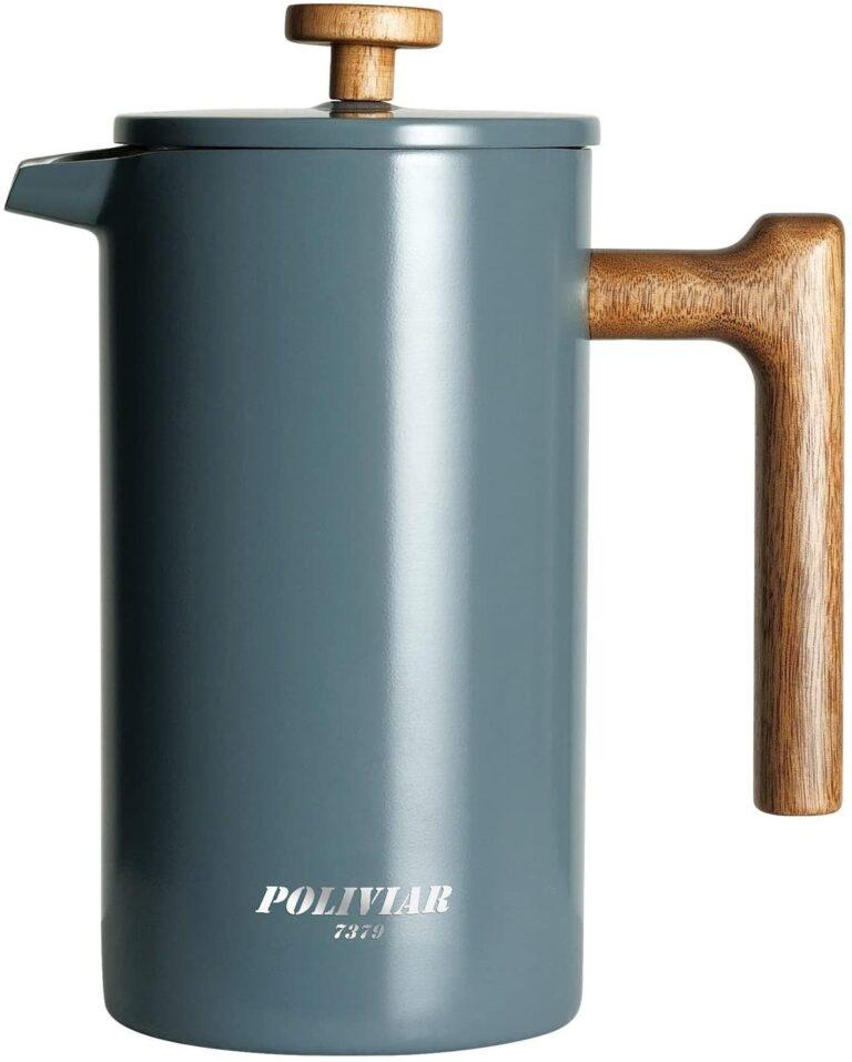 POLIVIAR French Press Coffee Maker