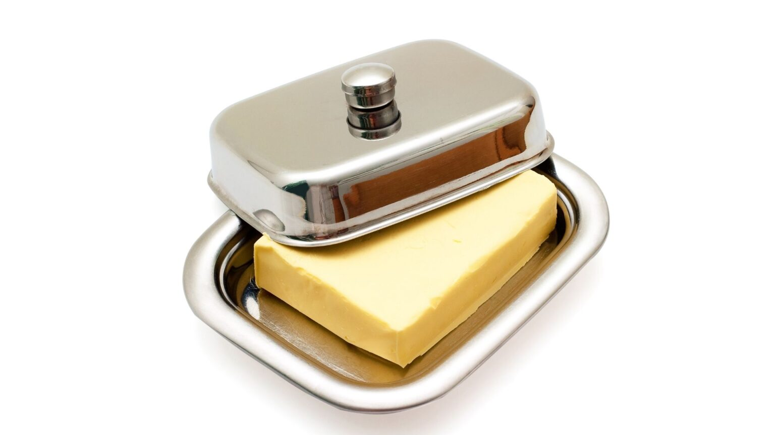 Stainless Steel Butter Dish