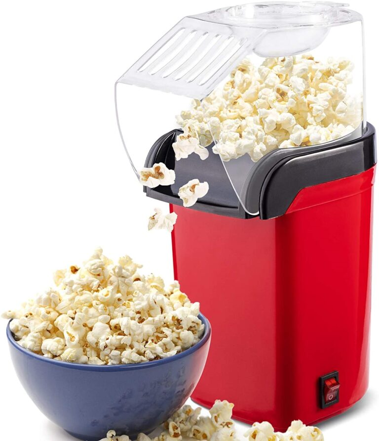 Hot Air Popcorn Popper Machine