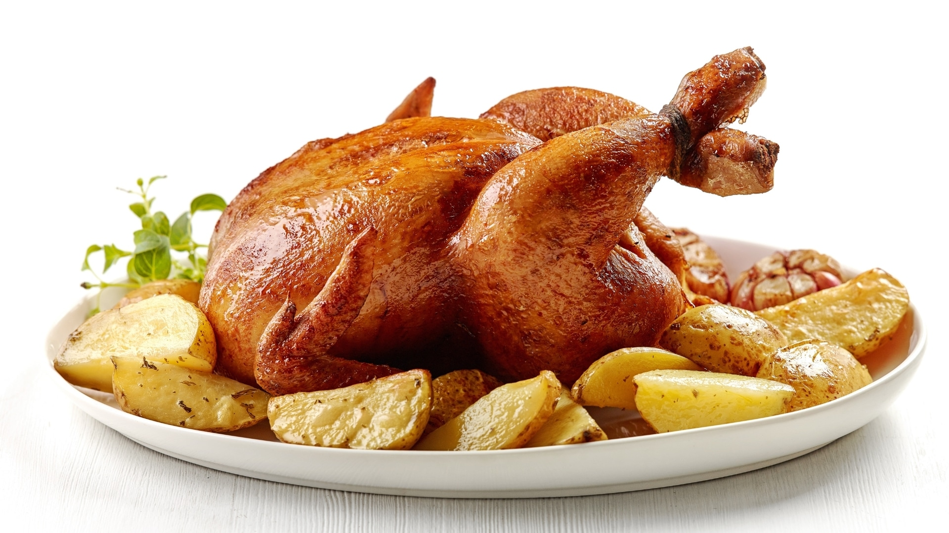 Juicy Roasted Chicken In The Oven