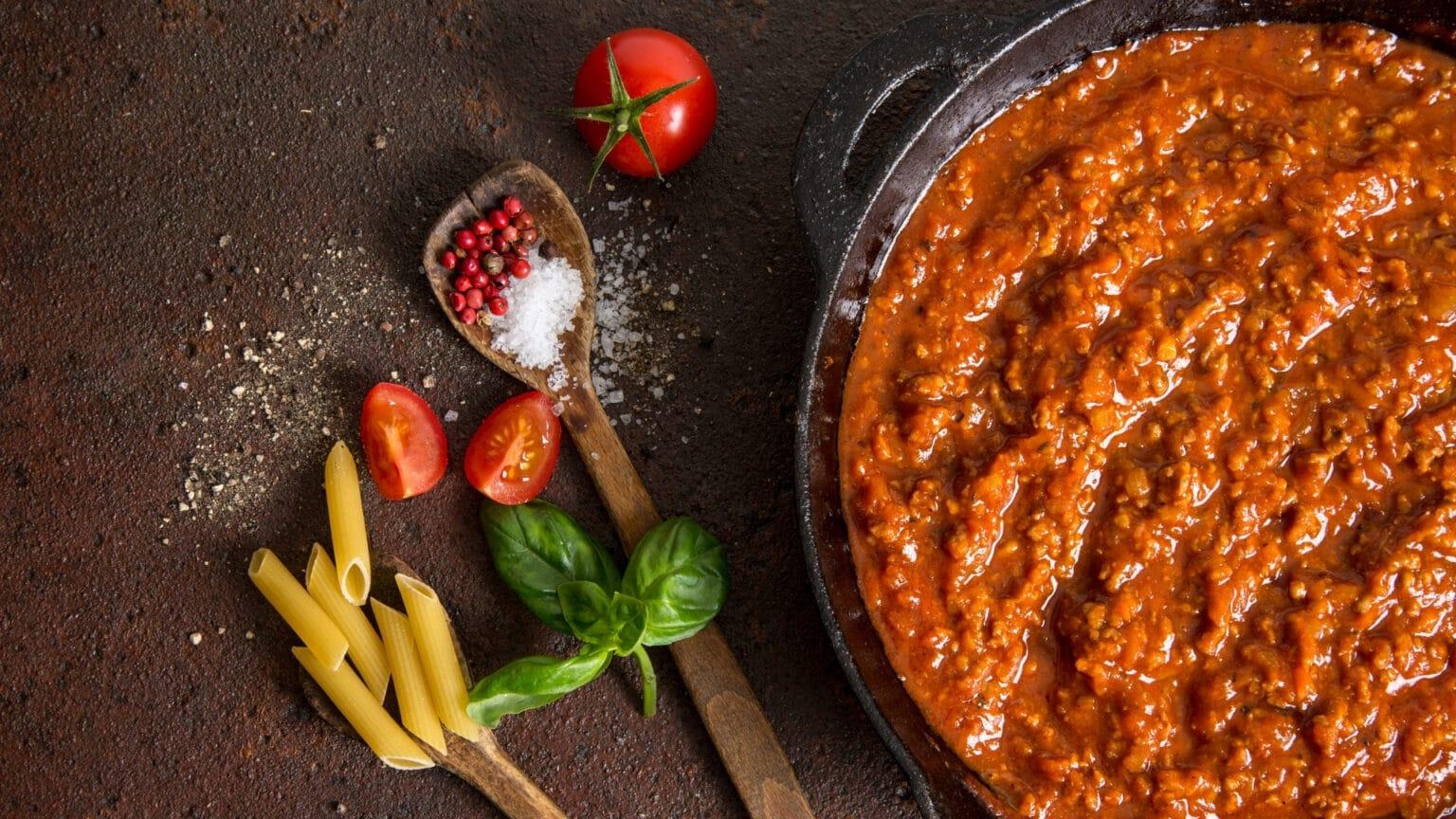 Wonderful Bolognese Sauce
