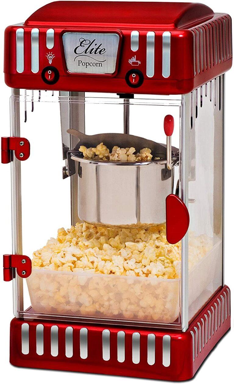 Elite Gourmet Popcorn Machine